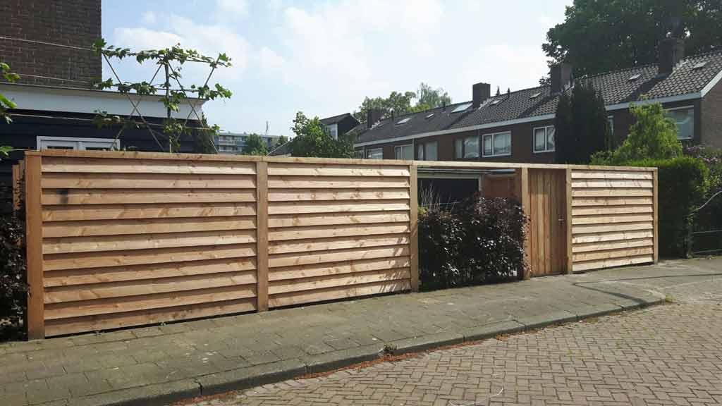 Vaak Schutting plaatsen in Waddinxveen - JvG bestratingen en tuinaanleg MG82
